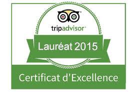 The Presidents' Suites receives the Trip Advisor 2015 Certificate of Excellence recognition 8 Les Suites des Présidents obtiennent la reconnaissance certificat d'excellence 2015 de Trip Advisor
