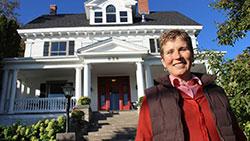 Nicole propriétaire des Suites des Présidents
