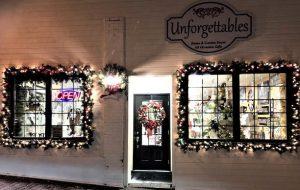 facade de magasin Unforgettables